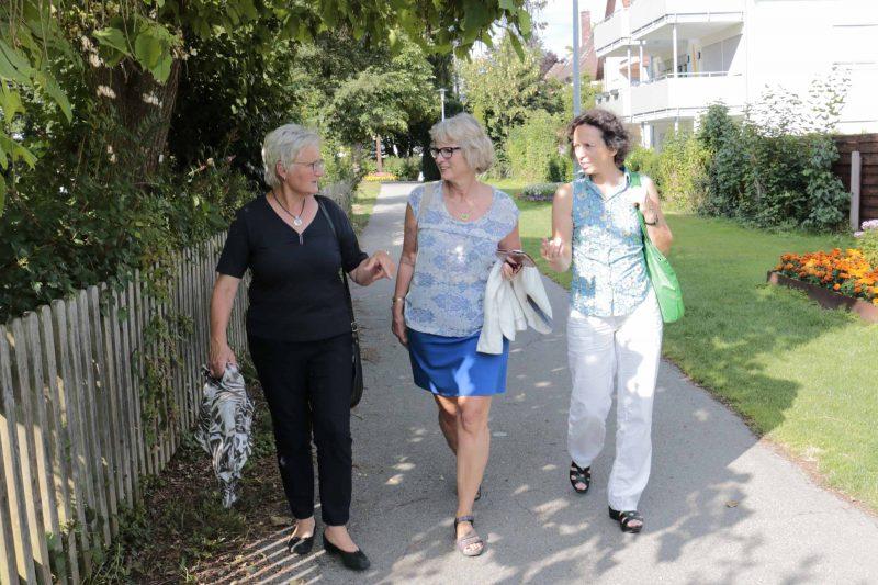 Mengener Bundestagsabgeordnete Margit Stumpp besucht Mengen