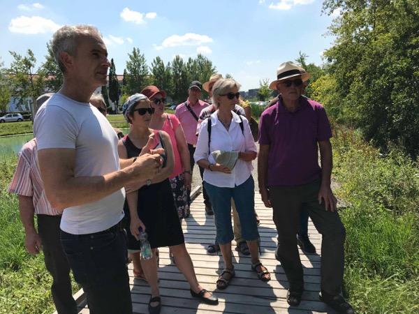 Grüne Landtags-Abgeordnete informierte sich über Naturschutz und Wasserqualität in Bad Saulgau