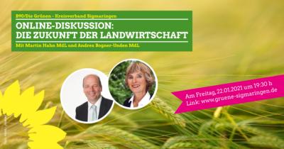 Zukunft der Bäuerlichen Landwirtschaft Online Diskussion mit Martin Hahn