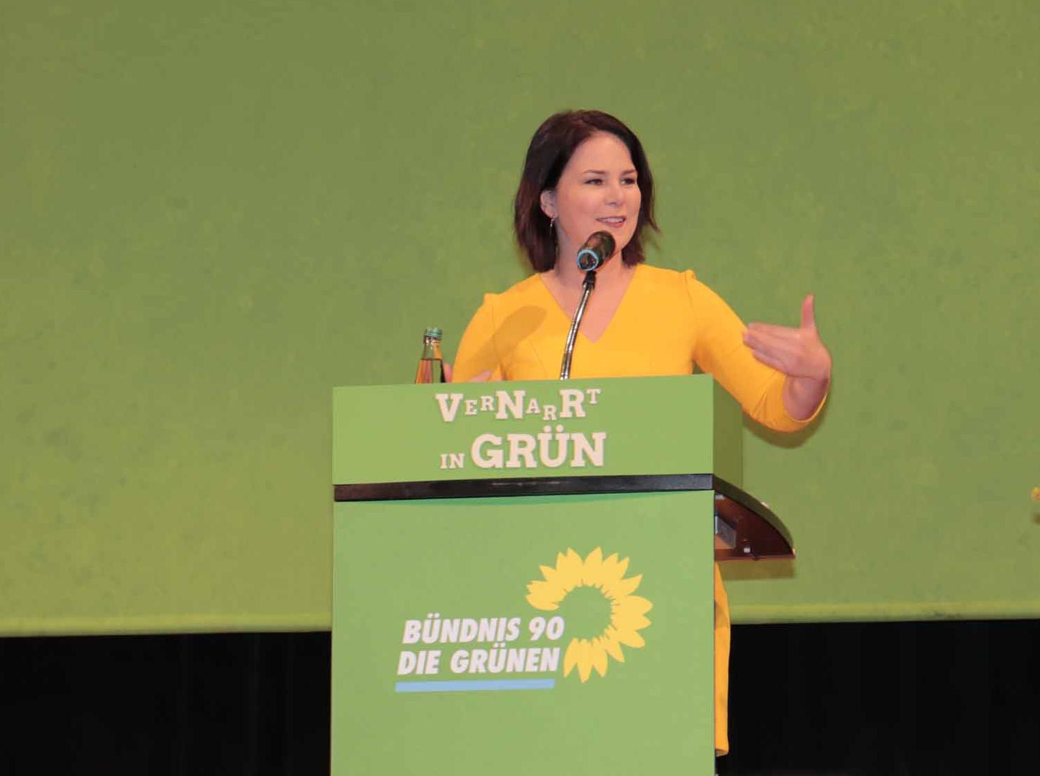 Bundestagswahl mit Annalena Baerbock als Grüner Kanzlerkandidatin