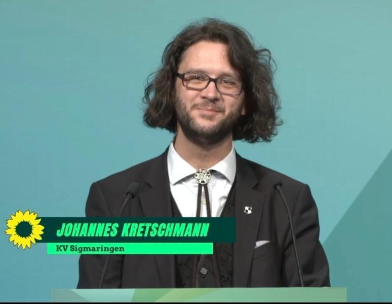 Johannes F. Kretschmann auf Platz 22 der Landesliste gewählt