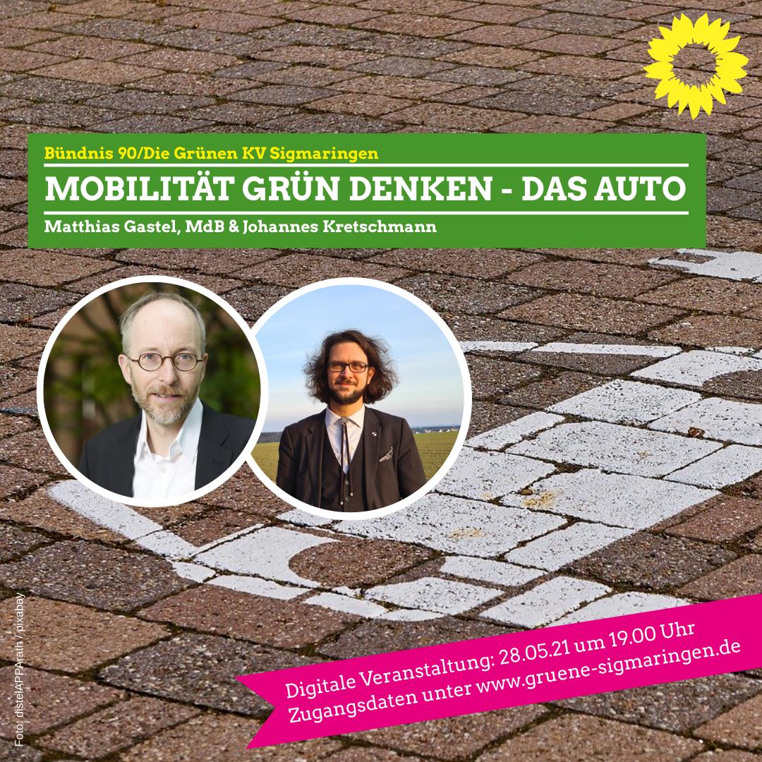 Mobilität grün denken – für die Gesundheit der Menschen, für das Klima und für die Zukunft des Autostandorts Deutschland