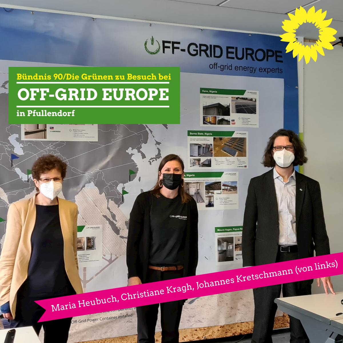 Besuch der Firma Off-Grid Europe in Pfullendorf
