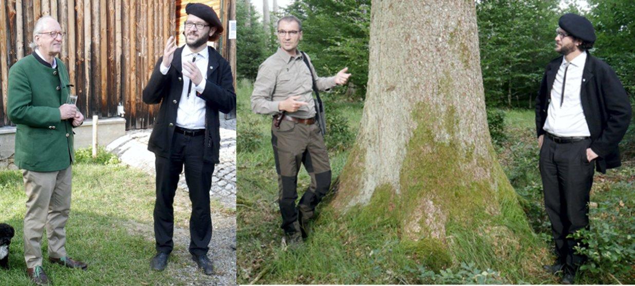 Fürstenhaus lädt Bündnis 90/Die Grünen zur Waldbegehung in Josefslust.
