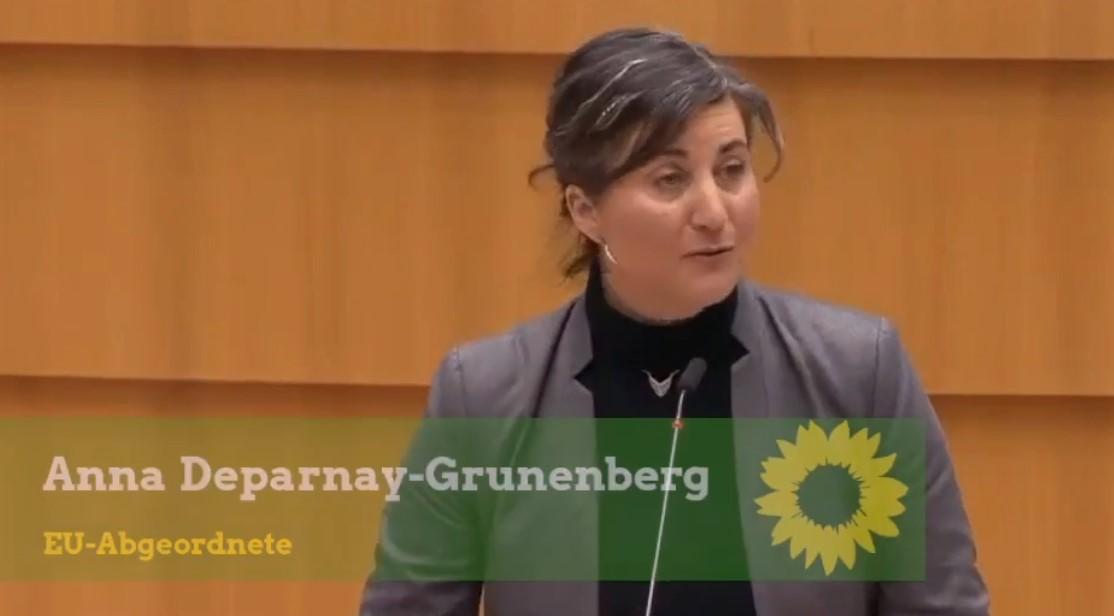 Rede von Anna Depardnay-Grunenberg vor dem europäischen Parlament
